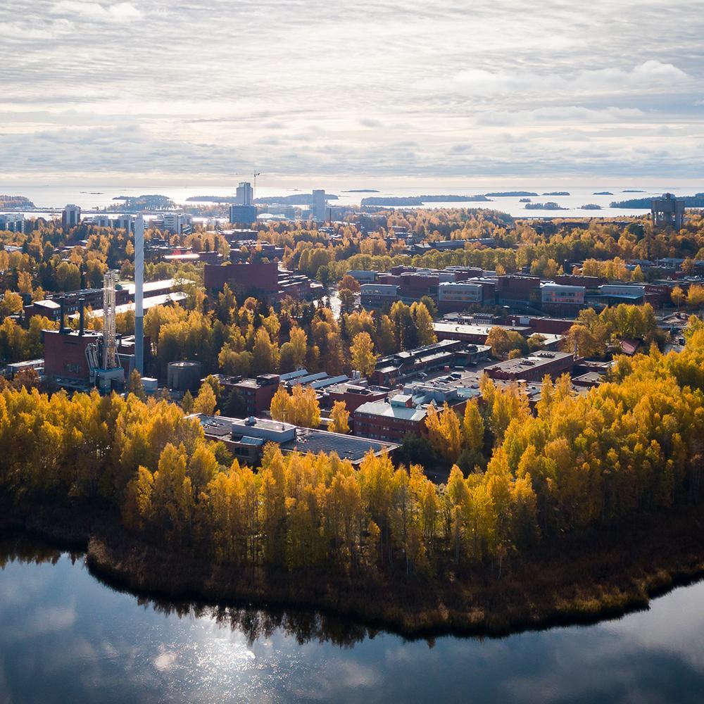 Otaniemi campus photo Matti Ahlgren