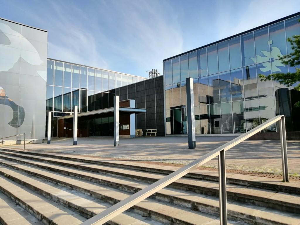Exactum building in University of Helsinki
